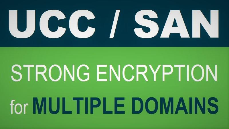 Strong Encryption with SAN