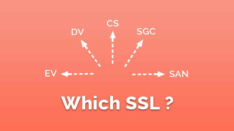 Which SSL Certificate