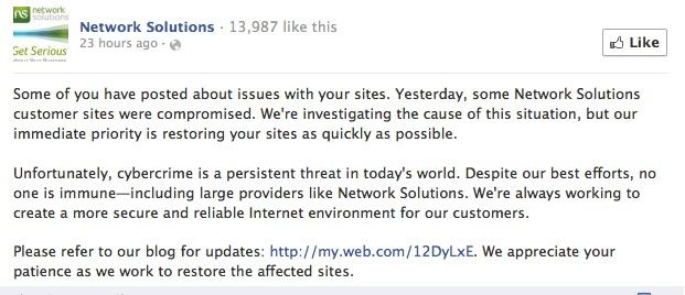 network solutions fb