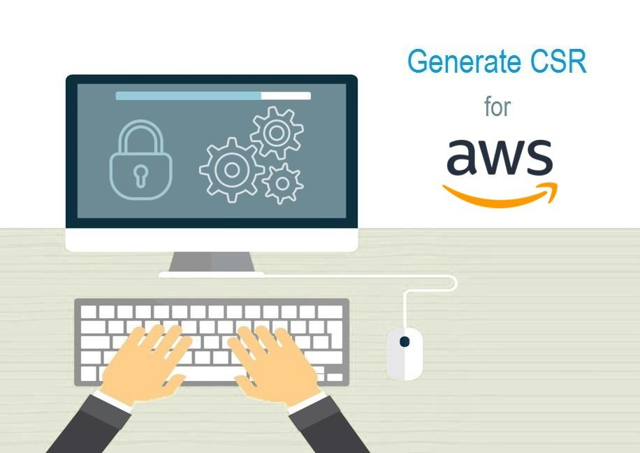 Generate CSR for Amazon Web Services