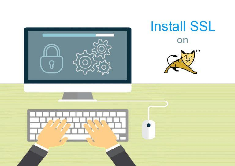 SSL installation on Tomcat web server