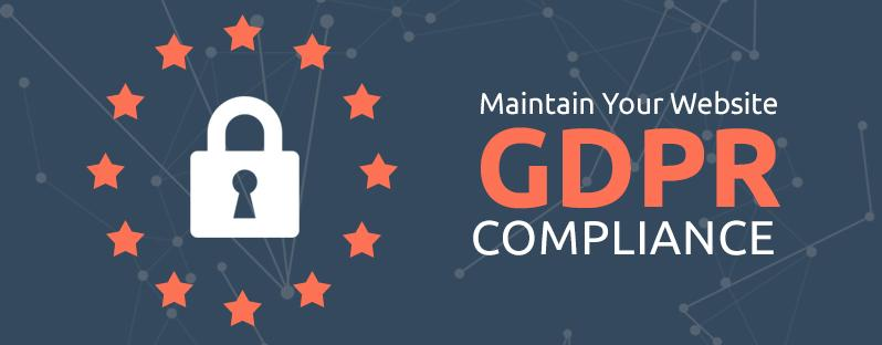 Maintain GDPR compliance