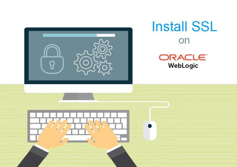 install ssl on oracle weblogic