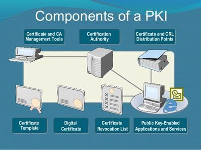 components of a PKI