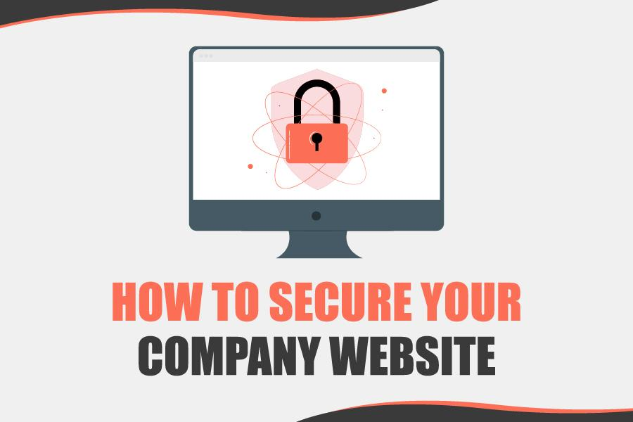 how to secure your company website