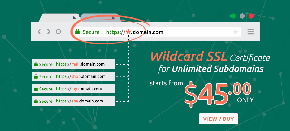 Cheap Wildcard SSL Certificates