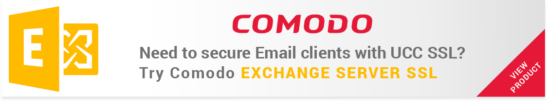 Cheap UCC Exchange Server SSL